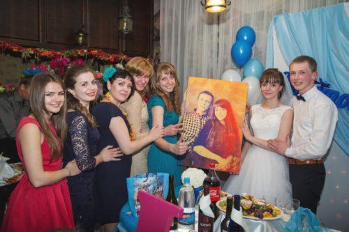 Необычные подарки на свадьбу