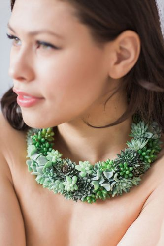 living succulent plant jewelry passionflower susan mcleary 6