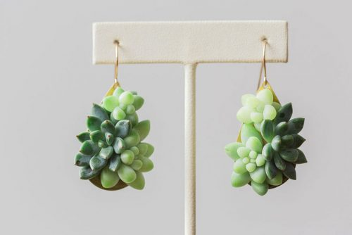 living succulent plant jewelry passionflower susan mcleary 7