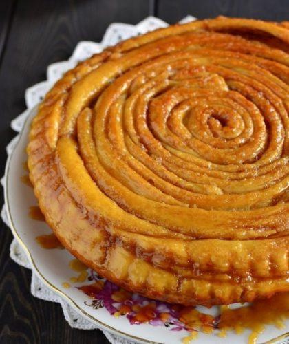 отландский спиральный пирог.