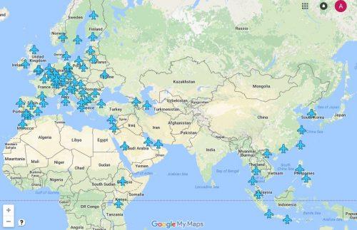 Wi-Fi паролі аеропортів