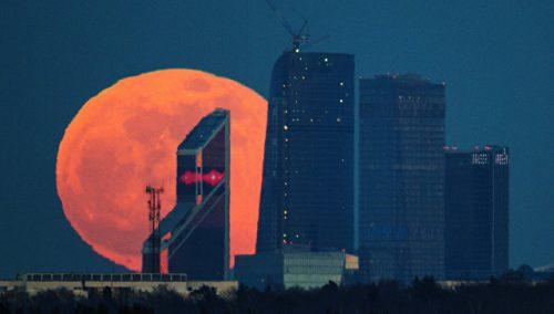 """В ноябре над Землей взойдет гигантская """"супер-Луна"""""""