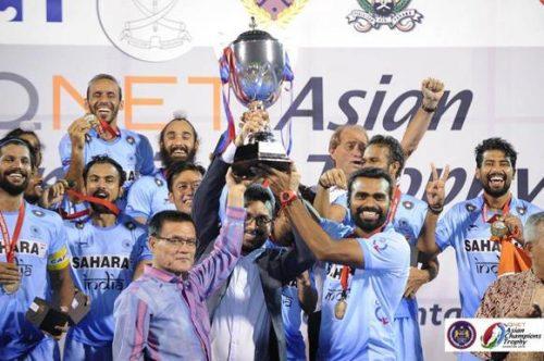 Индия выиграла QNET Asian Champions Trophy по хоккею на траве