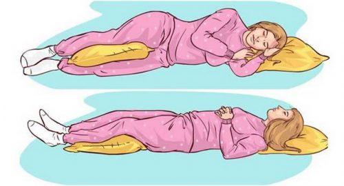 Избегайте определенные позы во сне