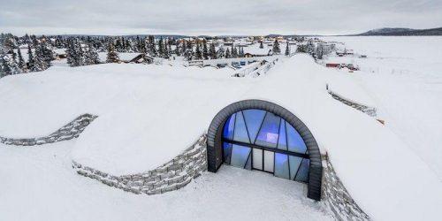 Ледяная сказка: необычный отель в Скандинавии