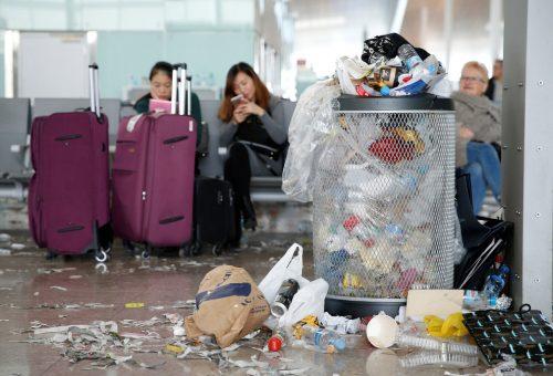 Армагеддон в аэропорту Барселоны