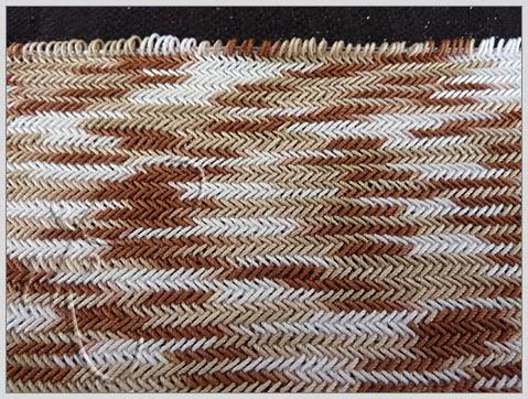 Herringbone stitch. Узор
