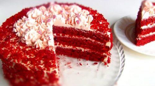 Торт Красный бархат. Пошаговый рецепт