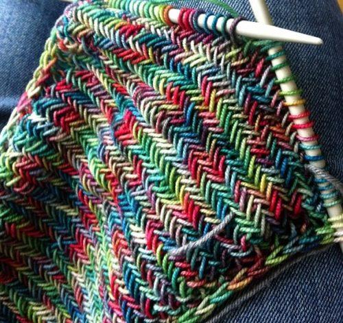 Схемы вязания шарфов 16