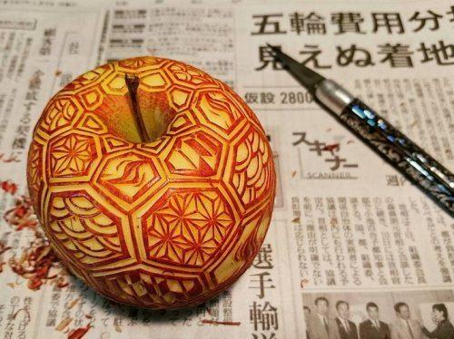 Удивительный карвинг от японского мастера