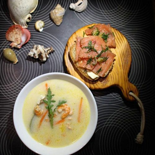 Норвежская кухня: суп и рыба