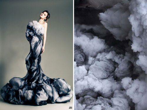 Мода, навеянная самой природой