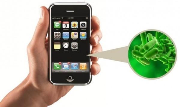 Количество бактерий в смартфонах больше, чем на сиденье унитаза