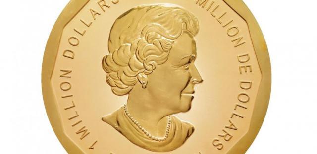 В Берлине украли 100-килограммовую золотую монету