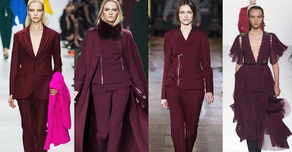 Одевайся с Pantone: с чем и как носить цвет «Золотистый портвейн» этой осенью.
