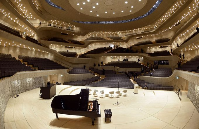Так выглядит концертный зал в Гамбурге, спроектированный с помощью алгоритмов