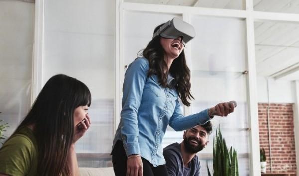Представлен бюджетный и автономный шлем Oculus Go