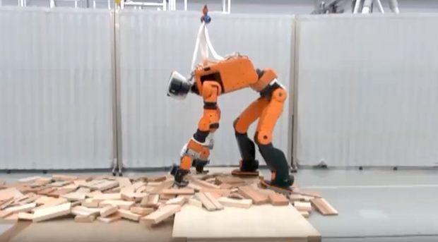 Honda показала робота для спасательных операций