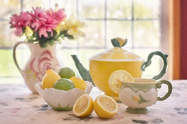 tea with lemon 783352 640