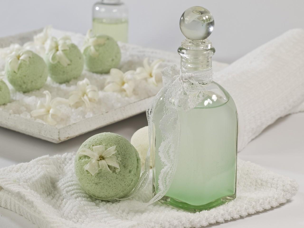 Шипучие бомбочки для ванны
