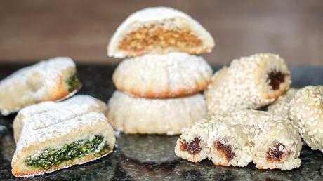 сладости арабское печенье Маамуль
