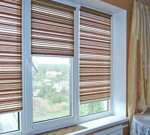 1548701175 830 Придать стиль пластиковому окну легко или что же такое тканевый ролет — Дом. Ремонт. Дизайн