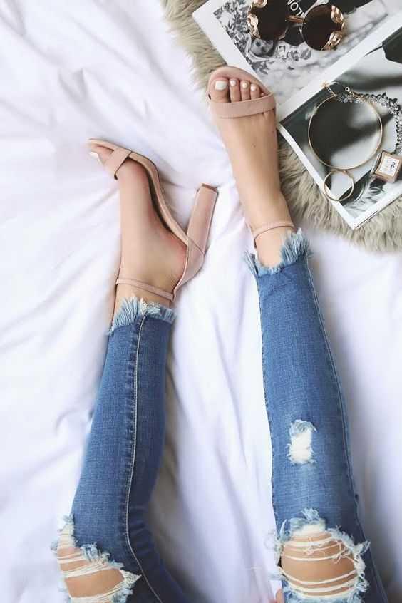 носить обувь на каблуках без неудобства и боли. 8 действенных советов