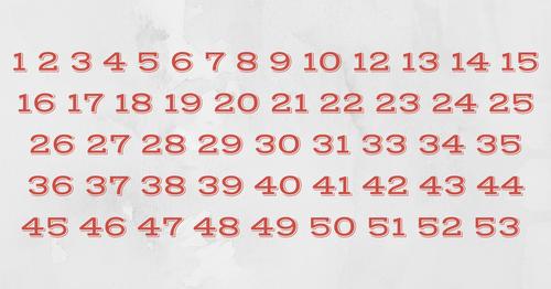 это нормальная последовательность чисел