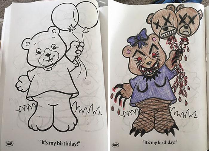 48 причин никогда не давать детские раскраски взрослым