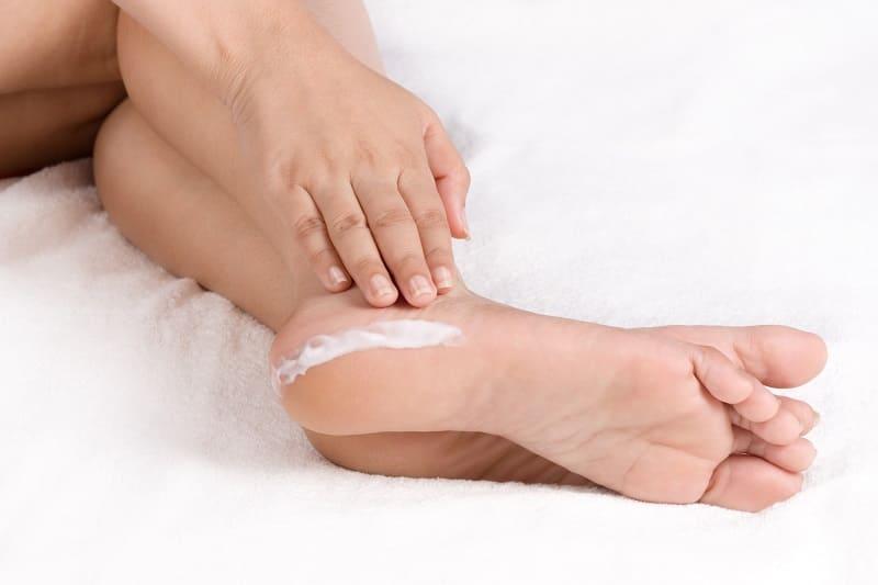 Солевой скраб для ног
