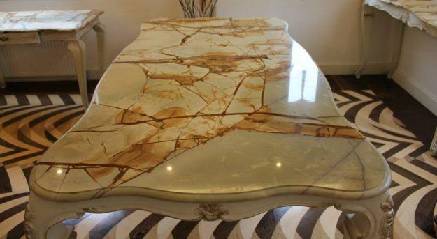 Столы из природного камня — Дом. Ремонт. Дизайн
