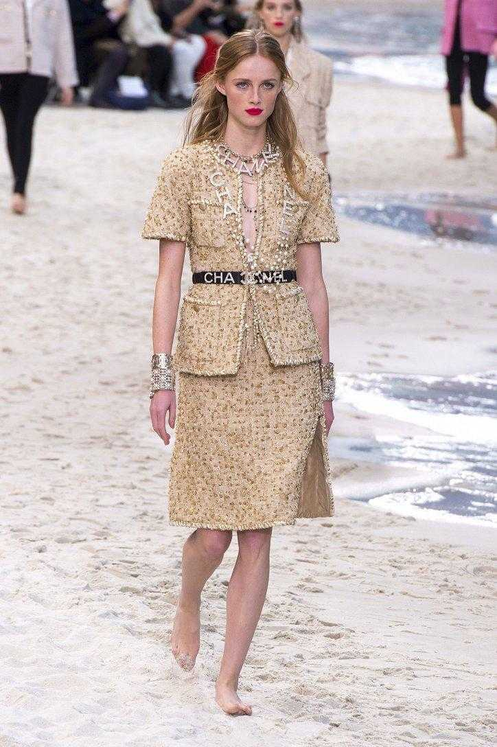 Chanel круизная коллекция весна лето 2019 которая произвела настоящий фурор