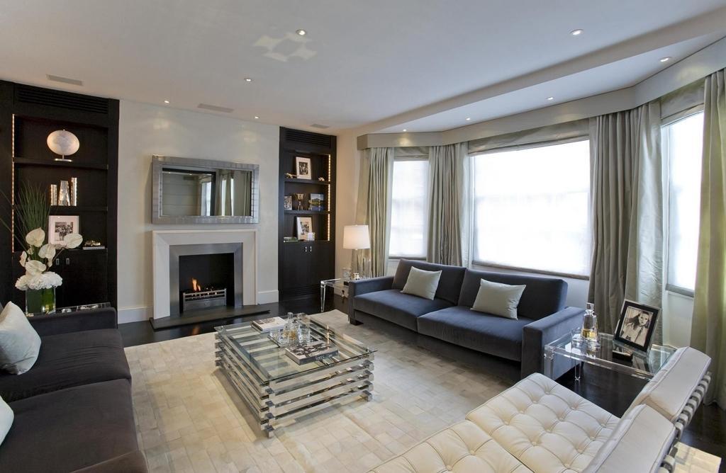 Интерьер гостинной мебели