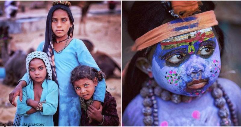 polskaja fotograf sezdila v indiju chtoby pokazat vam krasotu mestnyh devushek