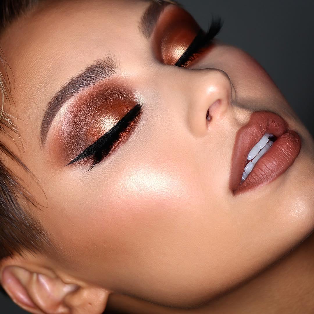 тенденции в макияже фото 2