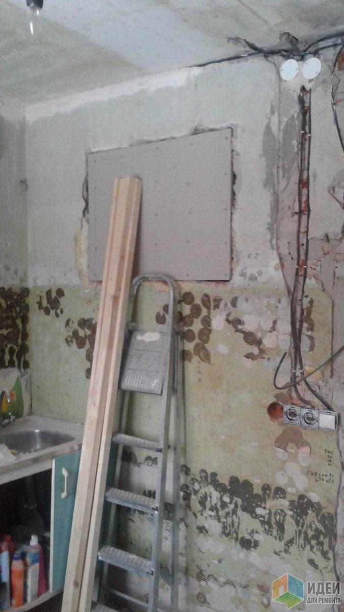 Однушка 29 кв.м - малобюджетный ремонт
