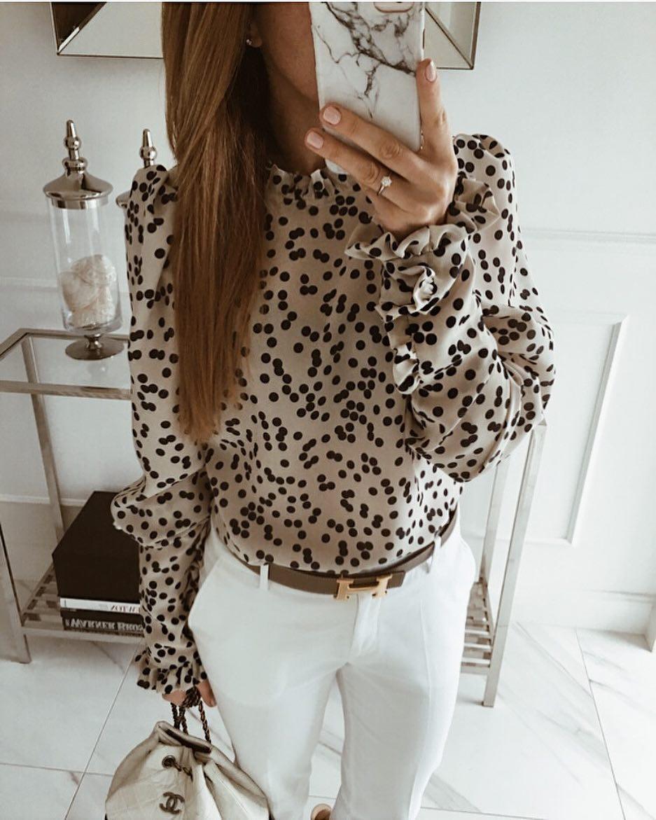 Модные блузки 2019 фото 14