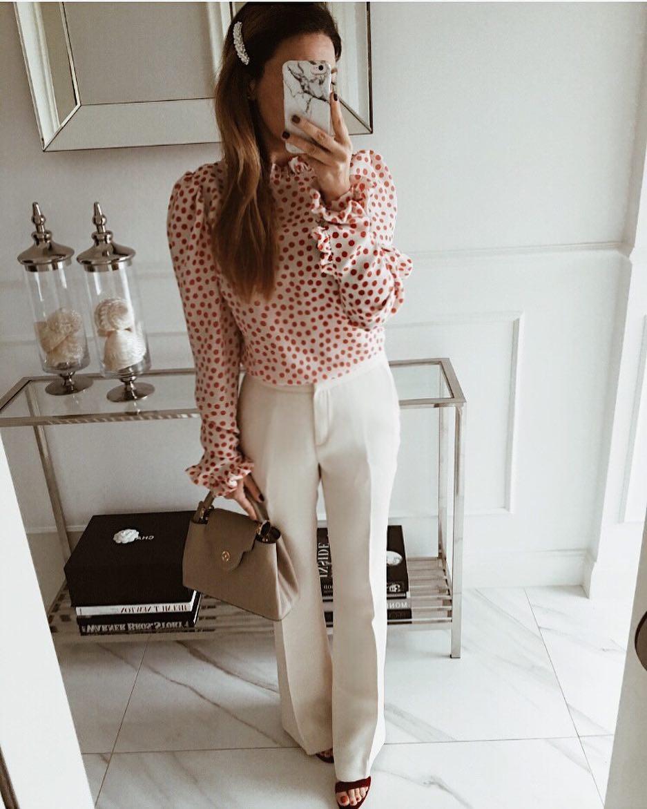 Модные блузки 2019 фото 13