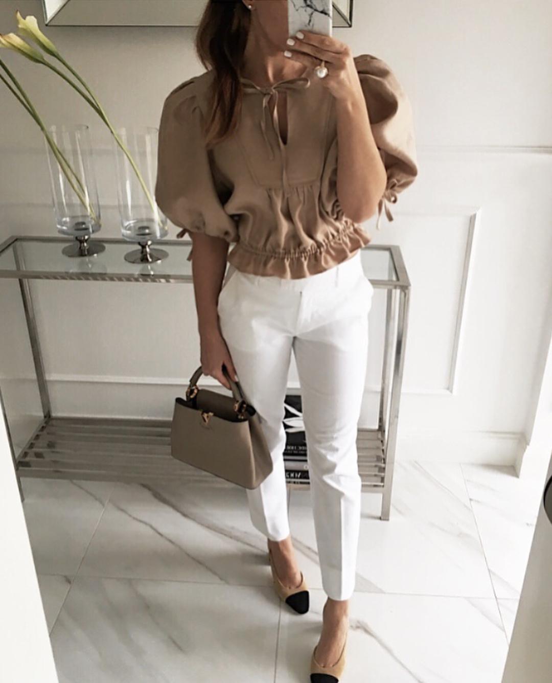 Модные блузки 2019 фото 6