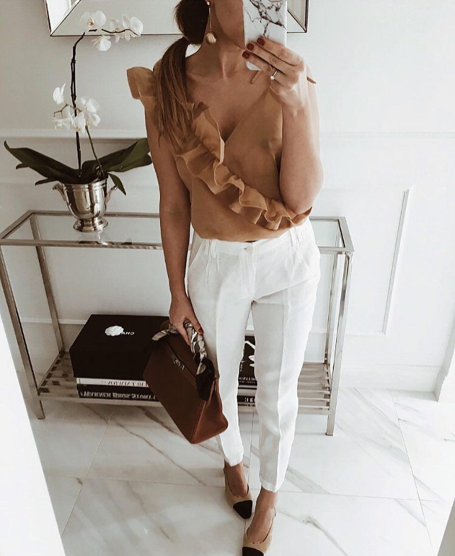 Модные блузки 2019 фото 5