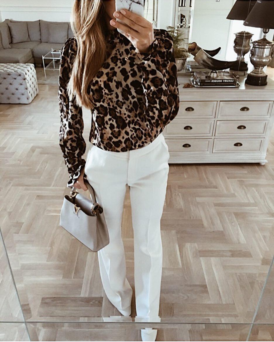 Модные блузки 2019 фото 11