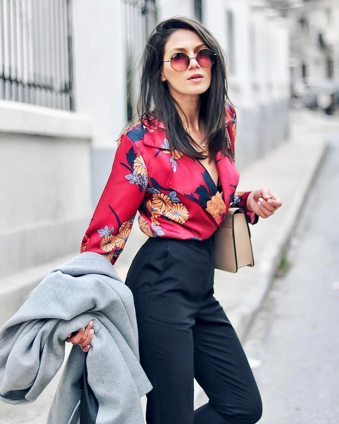 Модные блузки 2019 фото 19