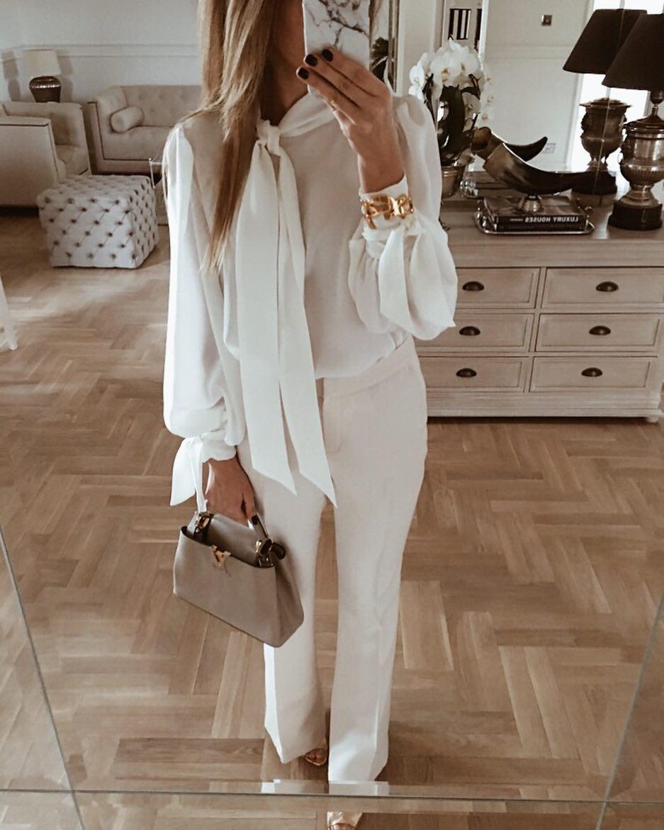 Модные блузки 2019 фото 12