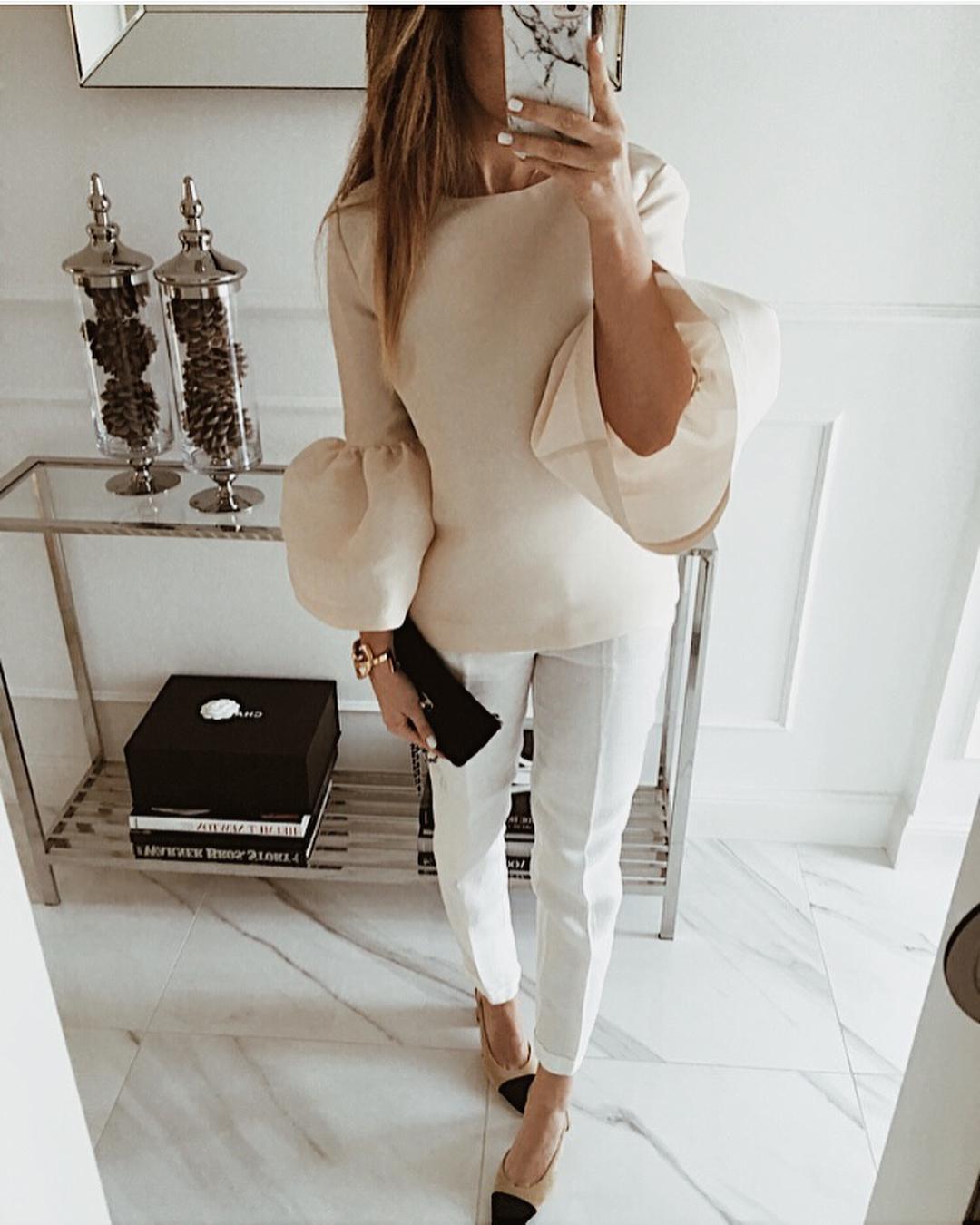 Модные блузки 2019 фото 8