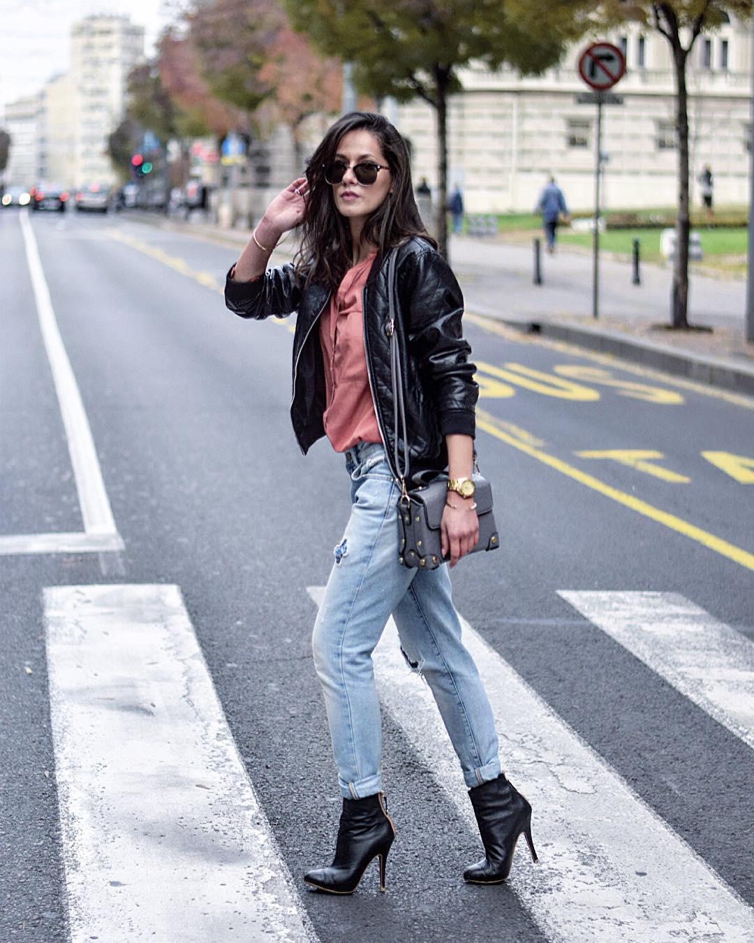 джинсы с рубашкой фото 11