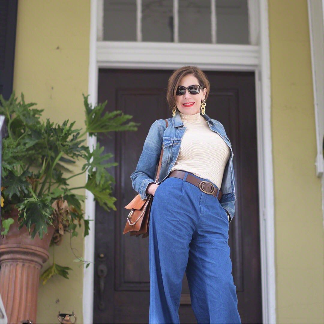 джинсовка в 40 лет фото 10