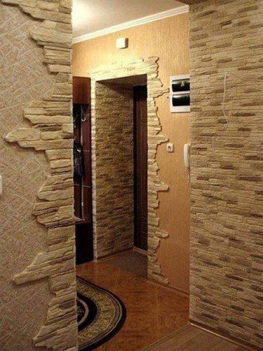 imitacija naturalnogo kamnja solidnyj interer pri minimume zatrat