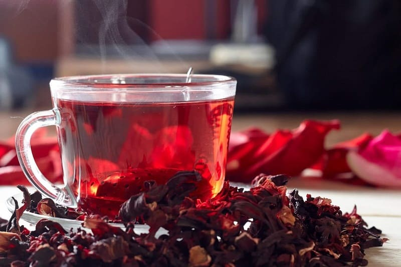 Чай каркаде - напиток фараонов