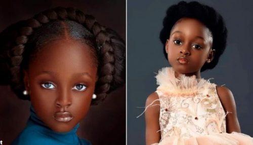 samaja krasivaja devushka v nigerii stala modelju i znamenitostju