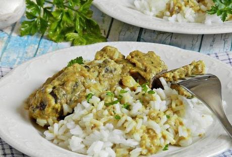 tushenaya pechen v chesnochno orehovom souse 1